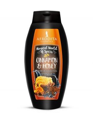 CINNAMON & HONEY Kremno-oljni gel za prhanje