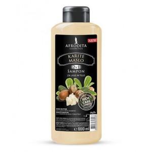 Šampon za lase in telo KARITE MASLO
