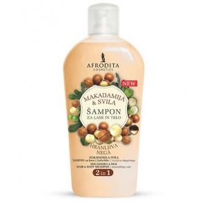 Šampon za lase in telo MAKADAMIJA & SVILA