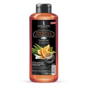 Šampon za lase in telo SLADKA POMARANČA & LIMONSKA TRAVA